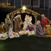 Christmas Nativity Scene Yard Lawn Art