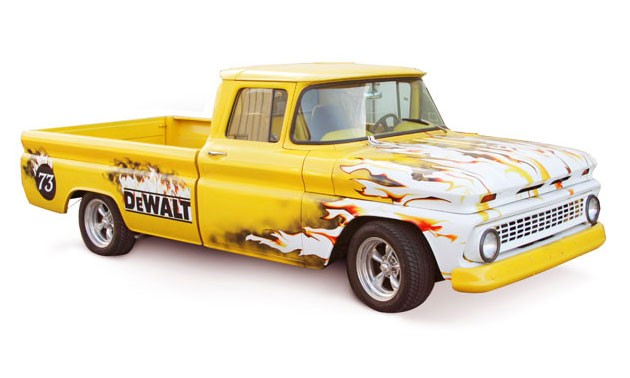 DeWalt Vehicle Wrap