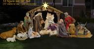 Christmas Nativity Scene Lawn Art