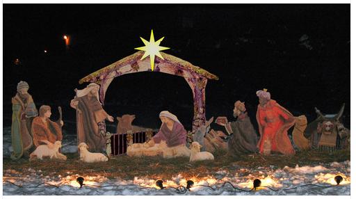 Outdoor Manger Scenes For Christmas