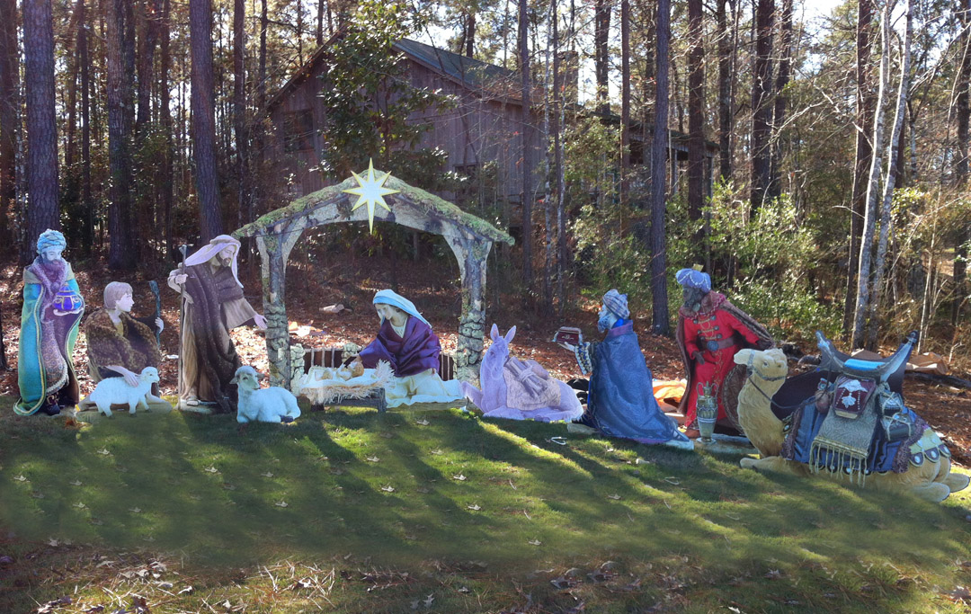Wooded Nativity Arkansas